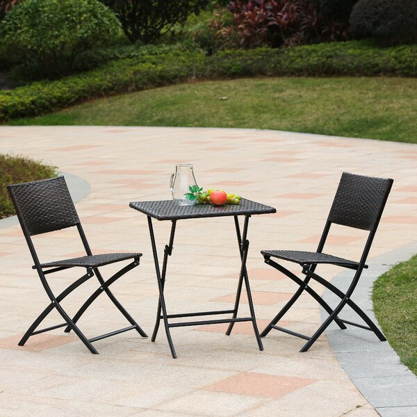 Pelley 3 Piece Bistro Set By Ebern Designs