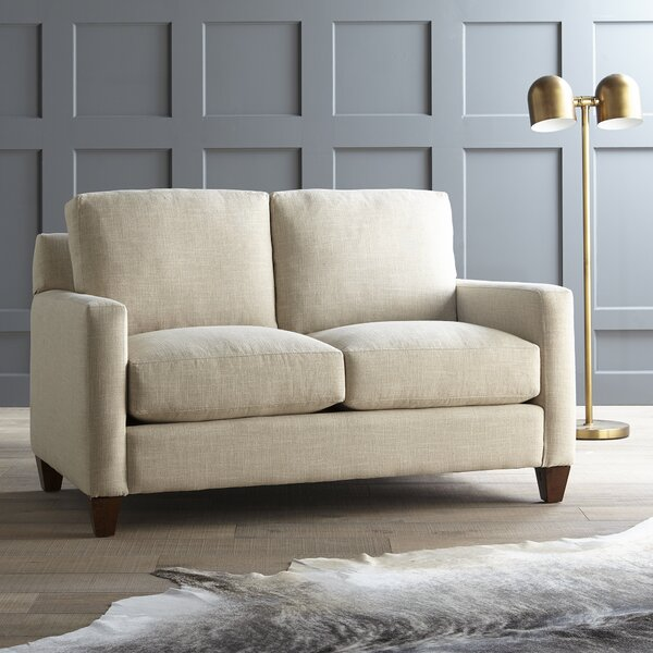 Fuller Hedwig Loveseat by DwellStudio