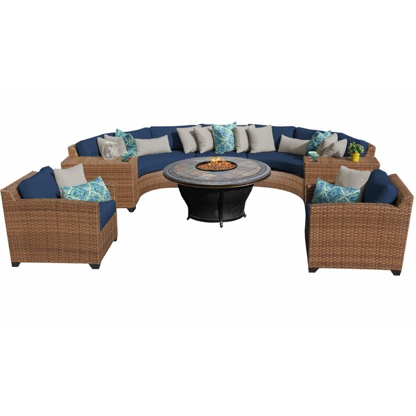 Waterbury 8 Piece Sectional Set with Cushions by Sol 72 Outdoor