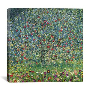 'Apfelbaum (Apple Tree)' by Gustav Klimt Painting Print on Canvas by iCanvas