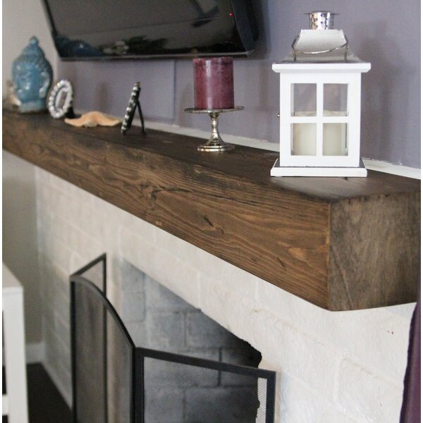 Fireplace Mantel Shelf by Midwood Designs