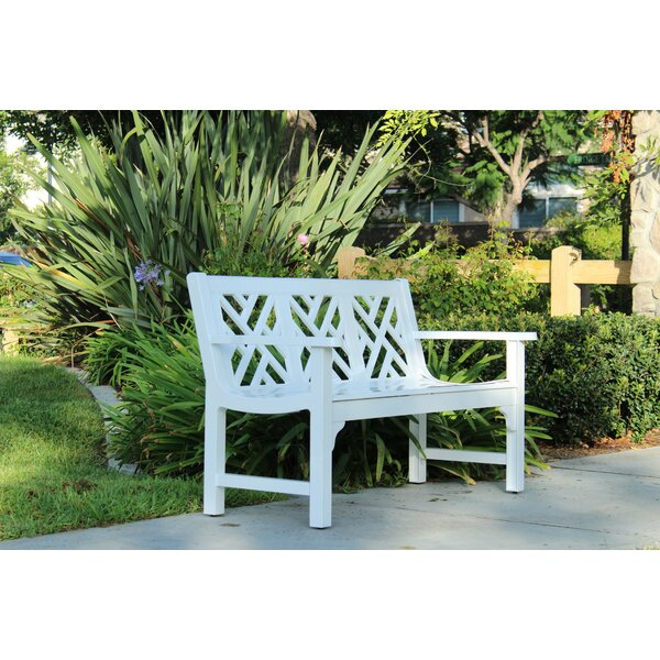 Chippendale Cast Aluminum Park Bench by Innova Hearth and Home