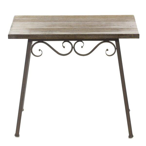 Briese Wooden Bistro Table by Fleur De Lis Living