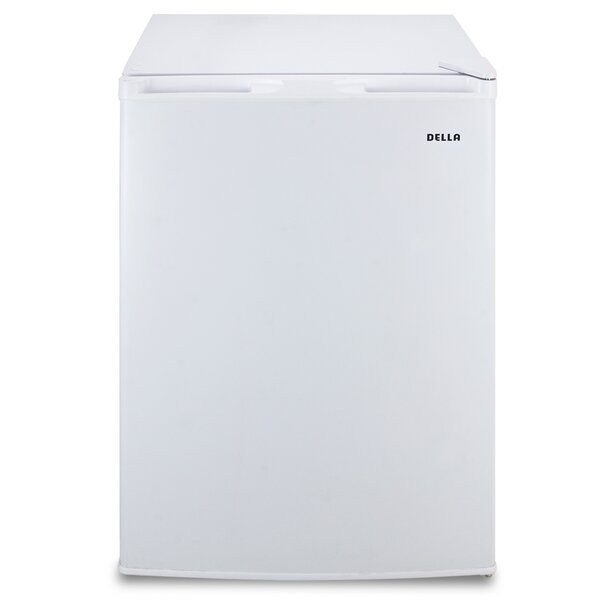 4.5 cu. ft. Compact Refrigerator with Freezer by Della