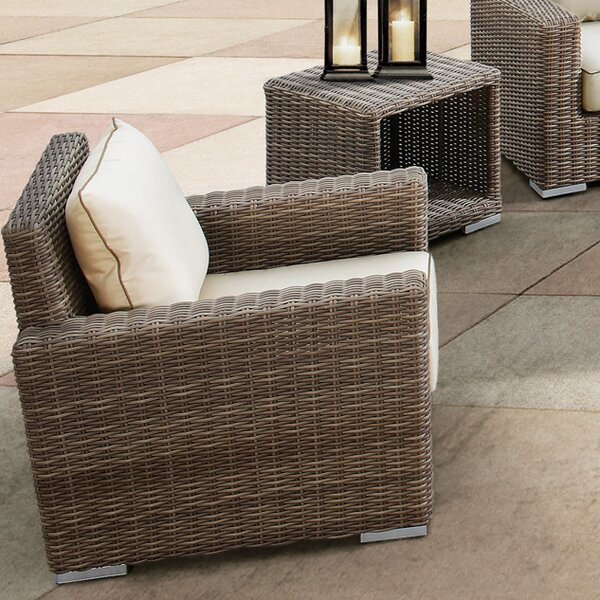 Hasler Patio Chair with Cushion by Brayden Studio