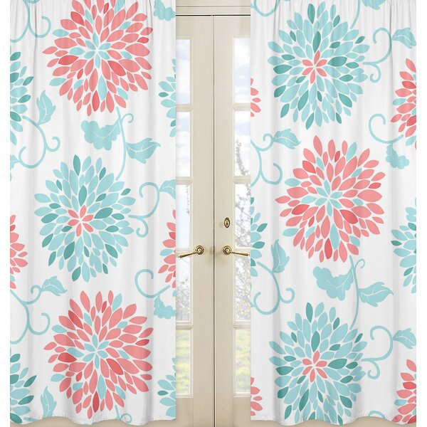 Emma Curtain Panels (Set of 2) by Sweet Jojo Designs