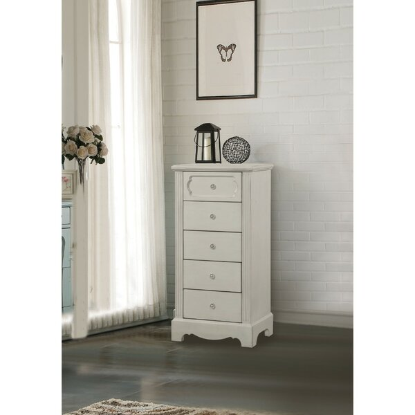 Adrian 5 Drawers Lingerie Chest by Alcott Hill