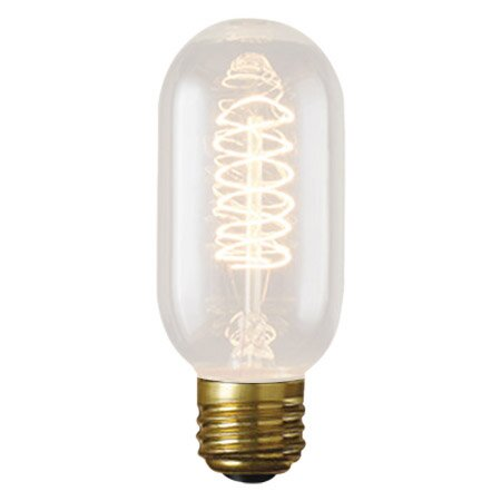 40W Amber 120-Volt Incandescent Light Bulb (Set of 5) by Bulbrite Industries