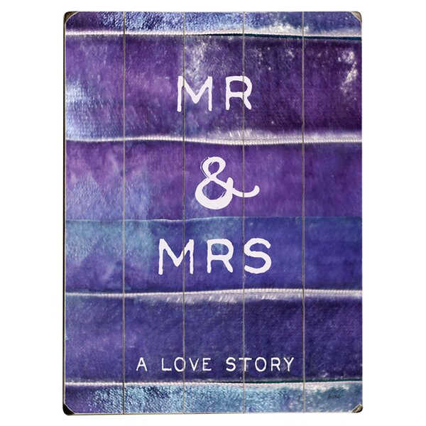 A Love Story Drawing Print Multi-Piece Image on Wood by Artehouse LLC