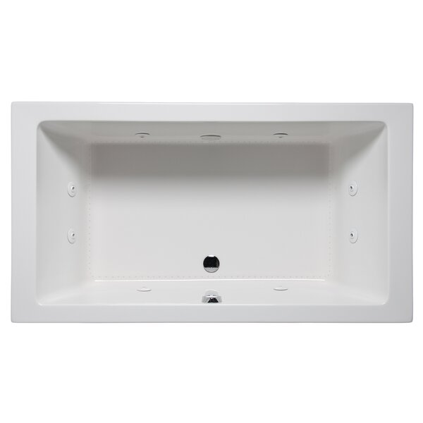 Vivo 72 x 36 Drop in Whirlpool Bathtub by Americh