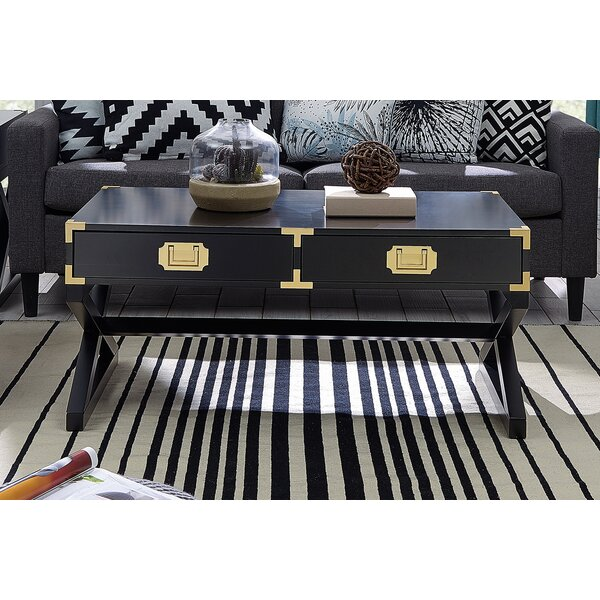 Cleorand Coffee Table With Storage By Mercer41