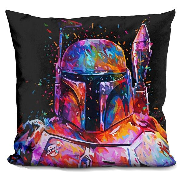 Bobafett Throw Pillow by LiLiPi