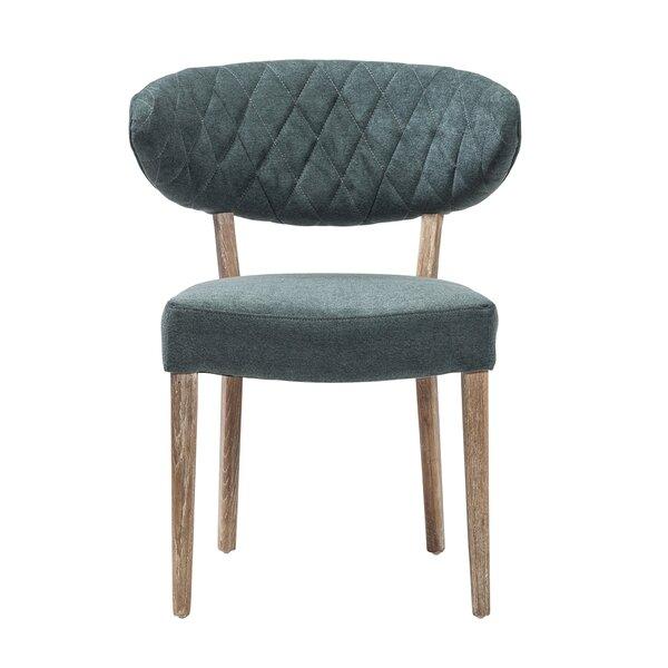 Farmborough Upholstered Slat Back Side Chair By Brayden Studio