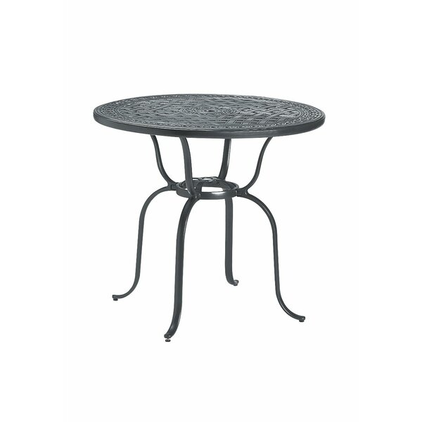 Banchetto Aluminum Bar Table by Tropitone