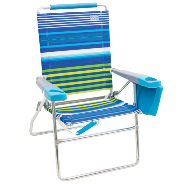 4-Position Reclining Beach Chair by Rio Brands Rio Brands