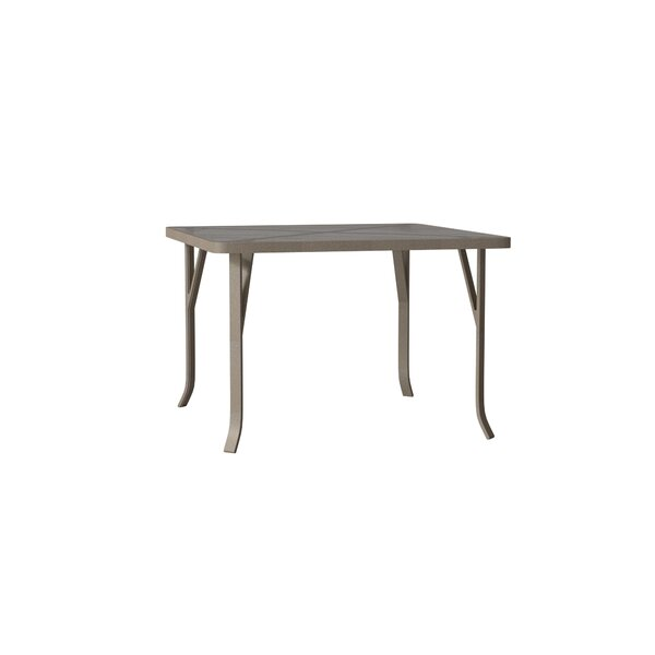 Site Furnishings Plastic/Resin Dining Table by Tropitone