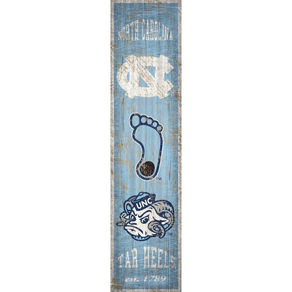 NCAA Heritage Graphic Art Print on Wood by Fan Creations