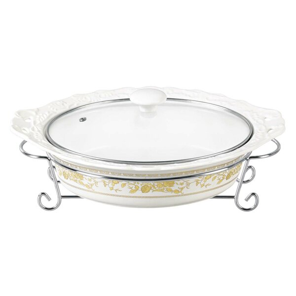 Oval Casserole by D'Lusso Designs