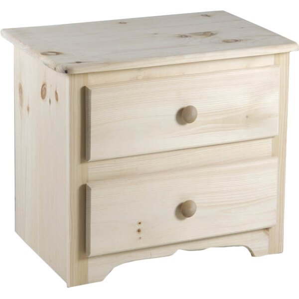 Laran Deluxe 2 Drawer Nightstand by Chelsea Home