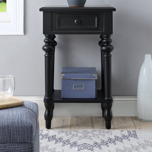 Bonnette End Table by Charlton Home