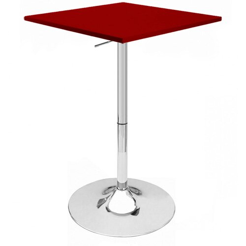 Zeta Adjustable Height Pub Table by Ebern Designs Ebern Designs