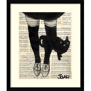 'This Be Cat' Framed Graphic Art by Ivy Bronx