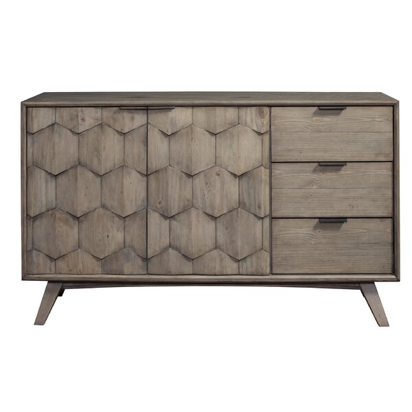 Alsacia 3 Drawer Combo Dresser by Ivy Bronx