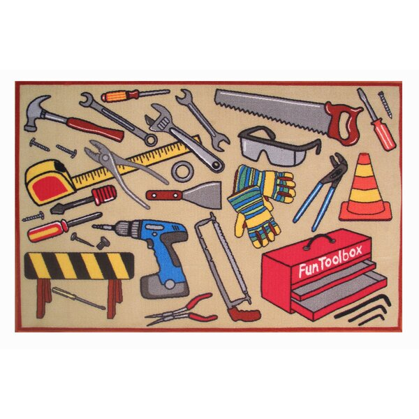 Fun Time Fun Toolbox Kids Rug by Fun Rugs