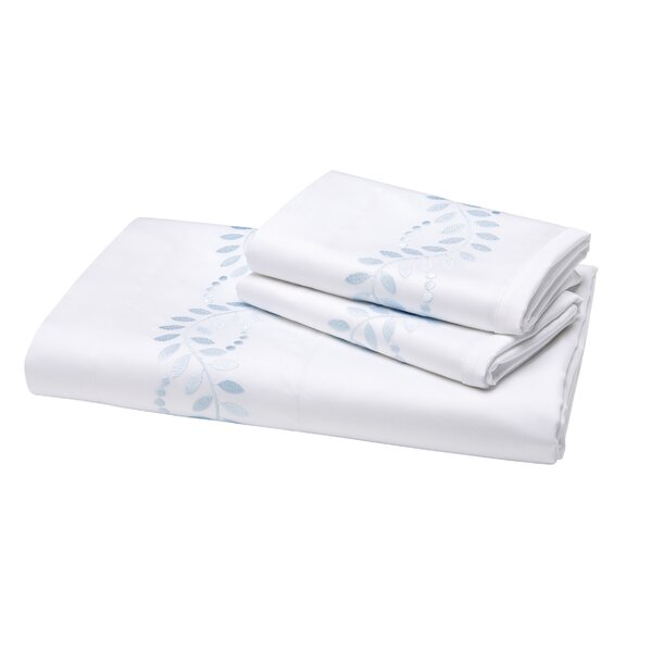 Batterson 300 Thread Count Fitted Sheet by Darby Home Co
