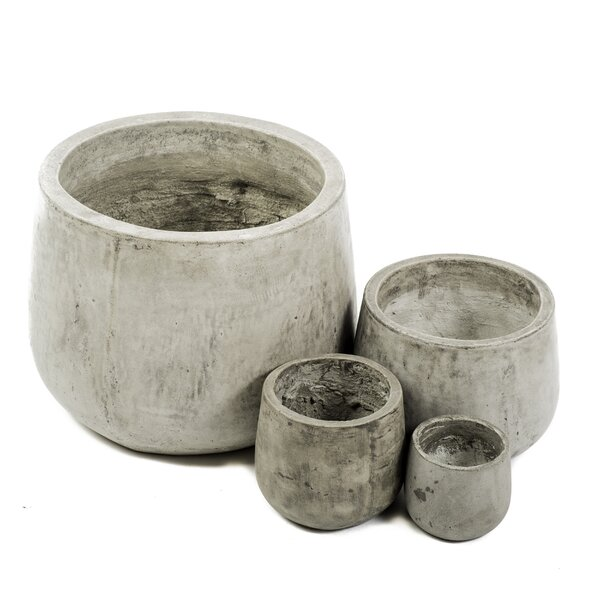 Samai 4-Piece Composite Pot Planter Set by My Spirit Garden