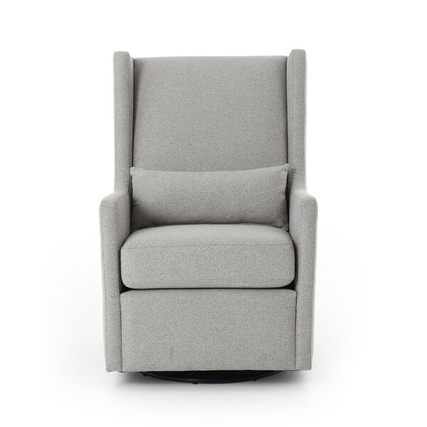 Doutzen Swivel Wingback Chair by Brayden Studio