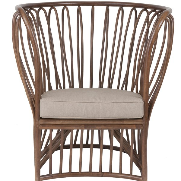 Warner Robins Barrel Chair by Bay Isle Home