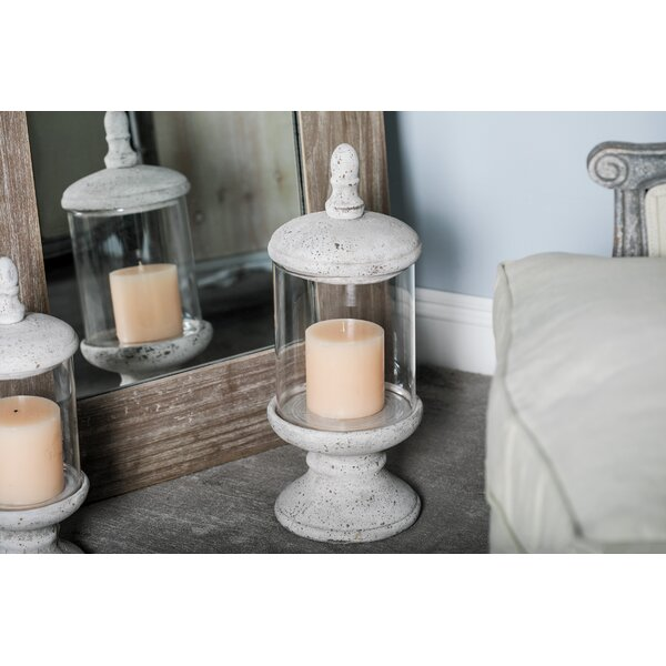 Traditional Distressed Ceramic Votive by Charlton Home