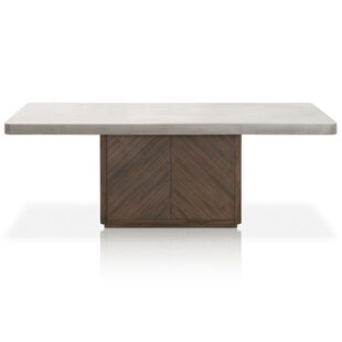 Top Reviews Bog Water Dining Table ByFoundry Select