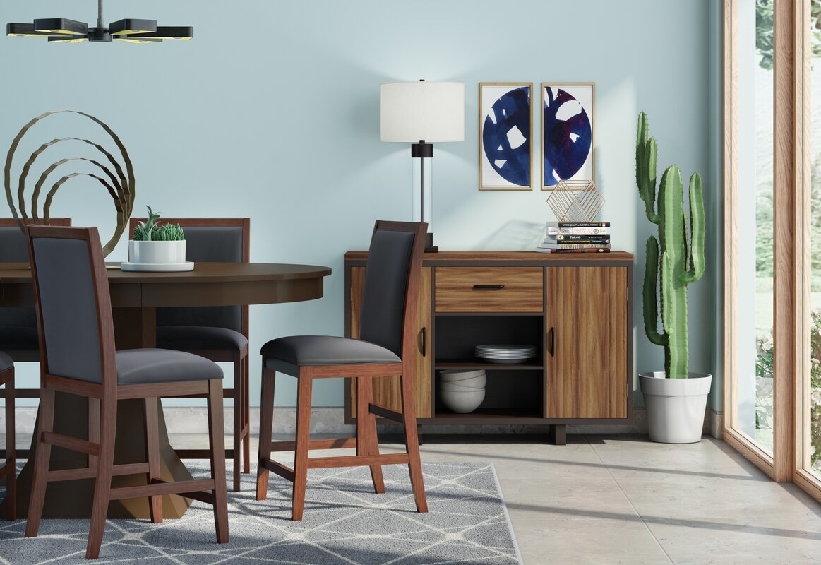 Wade Logan Worley Extendable Dining Table & Reviews | Wayfair