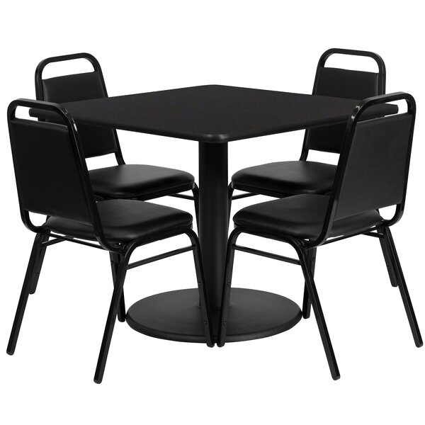 Boissonneault 5 Piece Dining Set by Red Barrel Studio