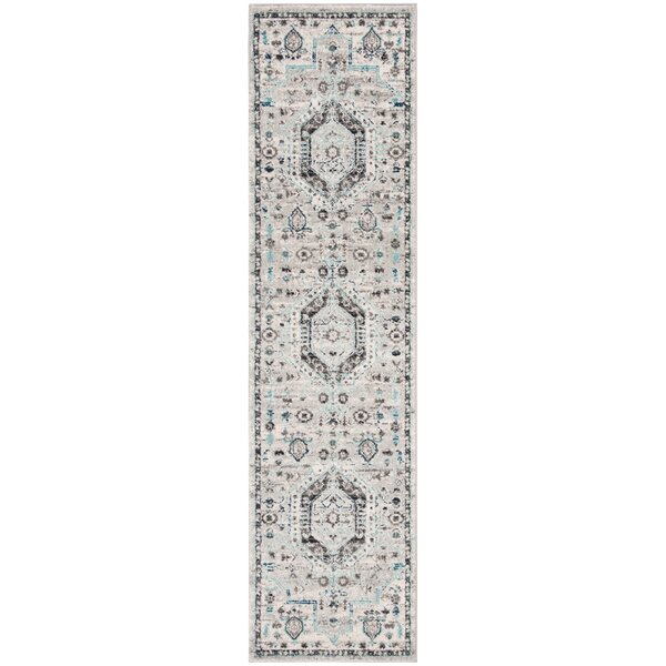 Kauffman Gray/Blue Area Rug by Bungalow Rose