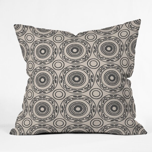 Natalie Baca Baja Mexicali Indoor/Outdoor Throw Pillow by East Urban Home