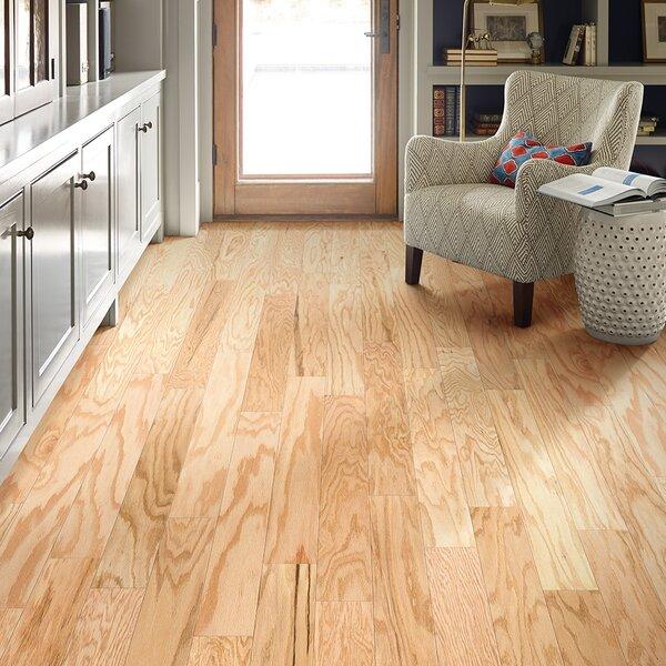 Prestige Oak 4.8 Engineered Oak Hardwood Flooring in Natural by Shaw Floors