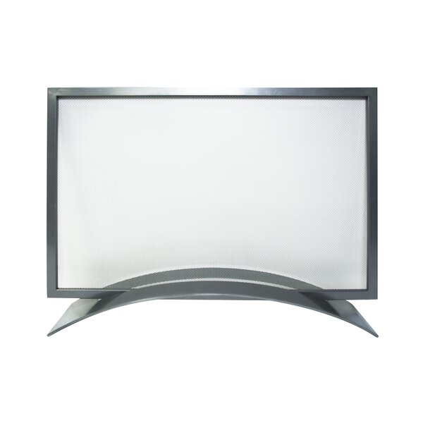 Orion Single Panel Steel Fireplace Screen By Pleasant Hearth