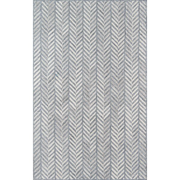 Harmond Hand Tufted Wool Gray Rug
