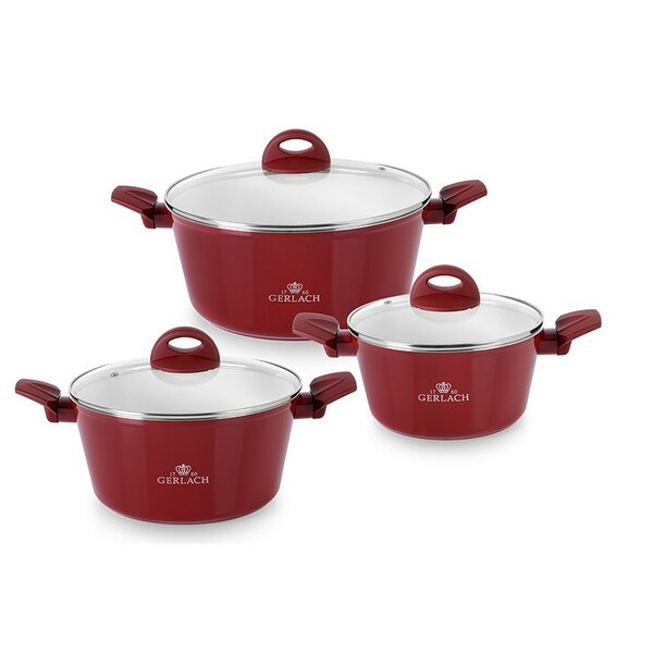 Harmony 6 Piece Pot Set with Lid by MaximaHouse