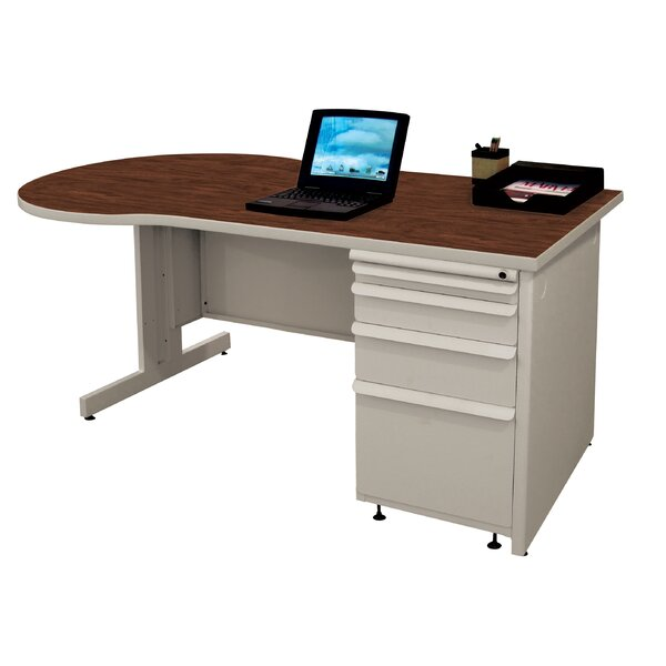 Zapf Peninsula U-Shape Executive Desk by Marvel Office Furniture