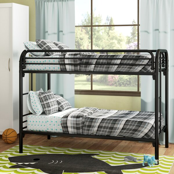 Barnesville Twin over Twin Bunk Bed by Harriet Bee