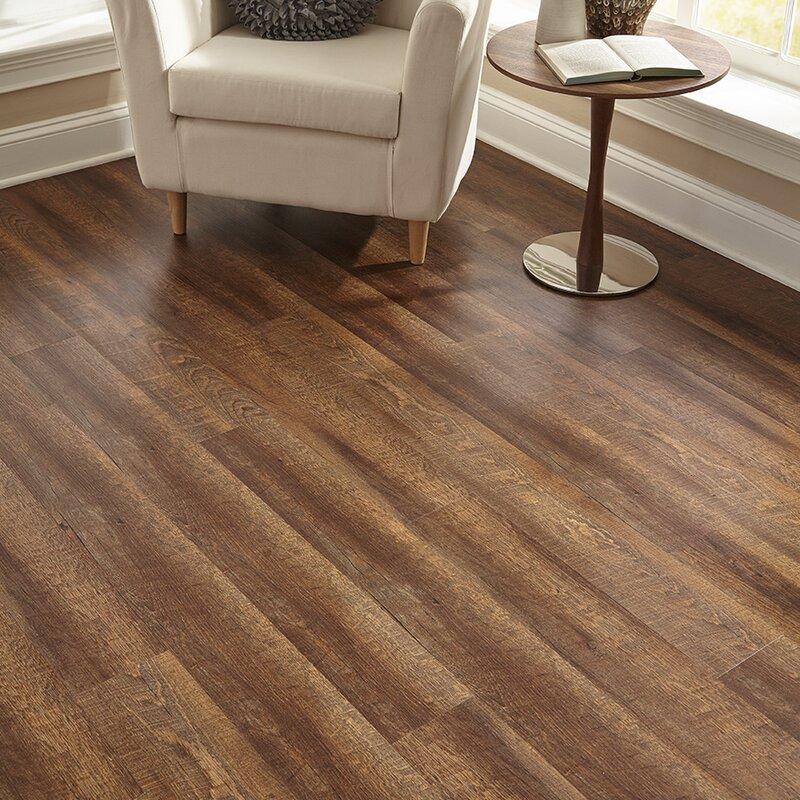 Islander Flooring Engineered 6 X 48 X 6mm Wpc Luxury Vinyl Tile In