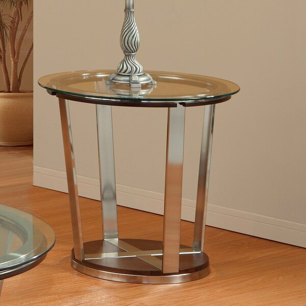 Dunham End Table by Woodhaven Hill