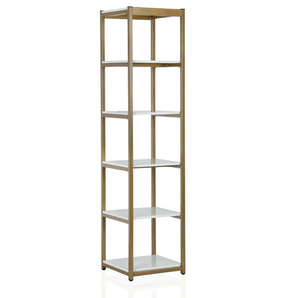 Billie Metal Etagere Bookcase by CosmoLiving by Cosmopolitan