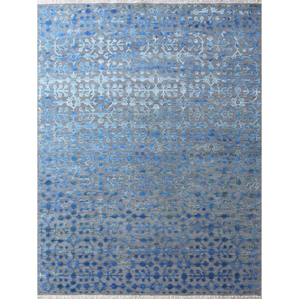 Chipping Campden Hand-Tufted Blue Area Rug by House of Hampton