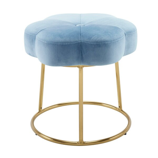 Peiffer Metal Accent Stool By Mercer41