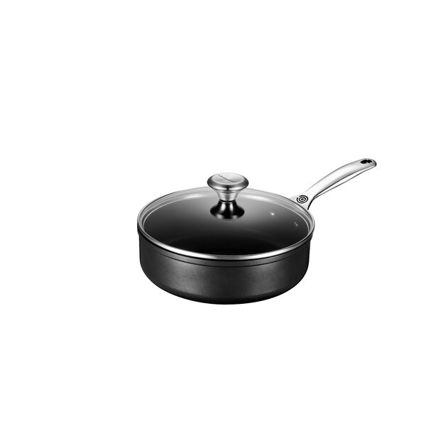 Toughened Nonstick Sauté Pan with Lid by Le Creuset